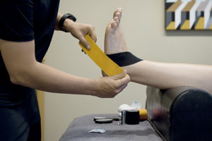 Medical Taping SMC Fysiotherapie in Zaanstad